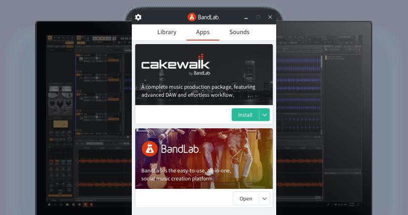 Cakewalk screenshot