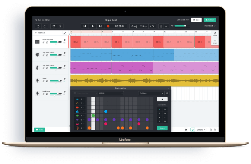 BandLab | FREE Online DAW & Award-Winning Features